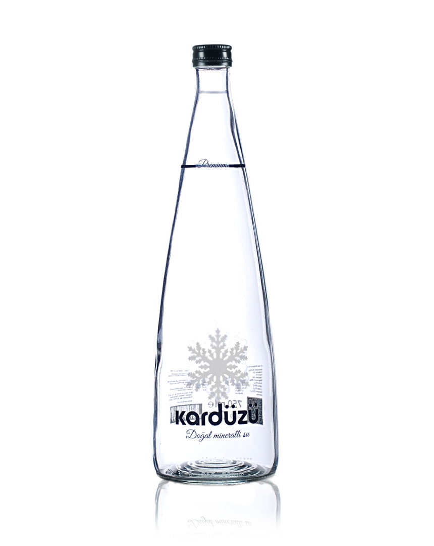 750 ml Glass Bottle | Natural Mineral Water